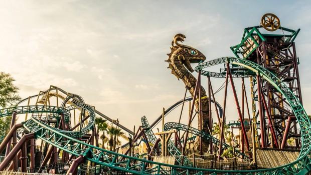 Cobra's Curse in Busch Gardens Tampa