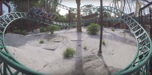 """Cobra's Curse"" in Busch Gardens Tampa"
