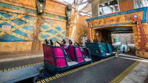 Cobra's Curse Station in Busch Gardens Tampa