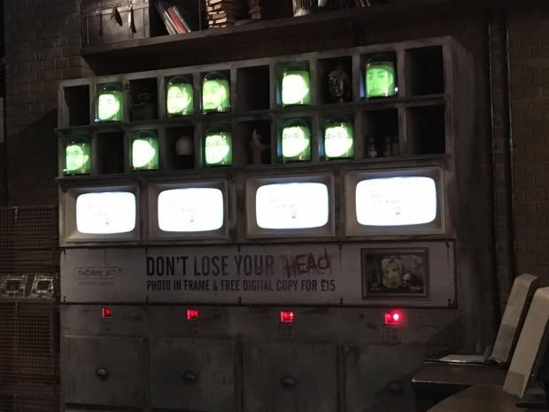 """""""Derren Brown's Ghost Train"""" im Thorpe Park"""