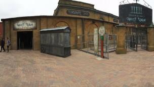 """""""Derren Brown's Ghost Train""""-Baustelle im Blick: Neue VR-Attraktion 2016 im englischen Thorpe Park kurz vor Eröffnung"""