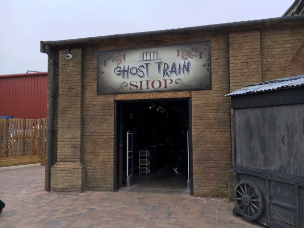 """Derren Brown's Ghost Train"" im Thorpe Park"