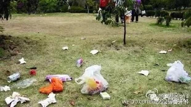 Disneyland Shanghai Müll