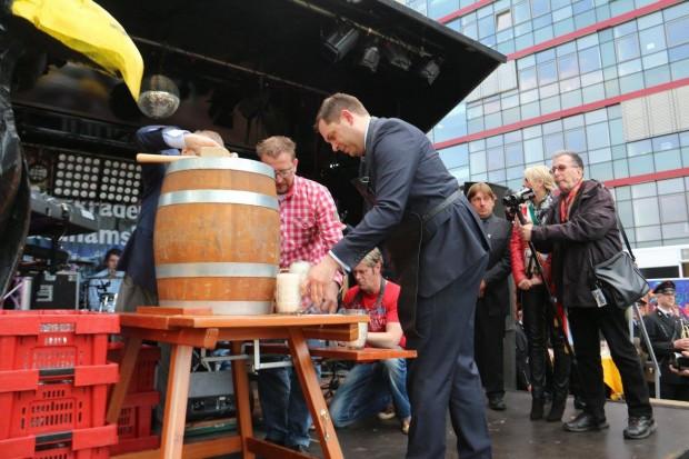 Eröffnung der Kirmes in Sterkrade 2016