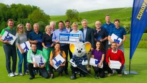 Euromaus Charity Golfcup 2016 sammelte 3.000 Euro für guten Zweck