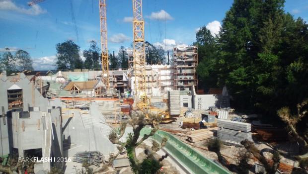 "Europa-Park ""Irland"" - Baustelle im Juni 2016 - 7"