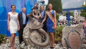 """Luxemburg im Europa-Park begrüßt: Aktionsfläche wurde zum """"Luxemburger Platz"""""""