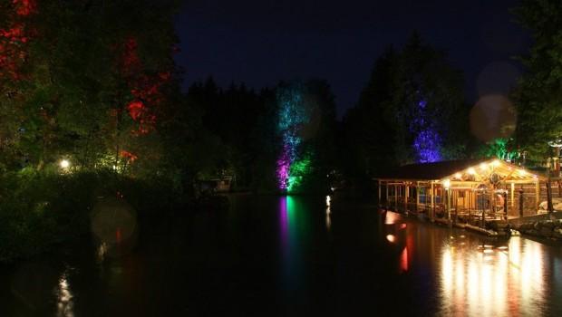 Fantasiana See bei Nacht