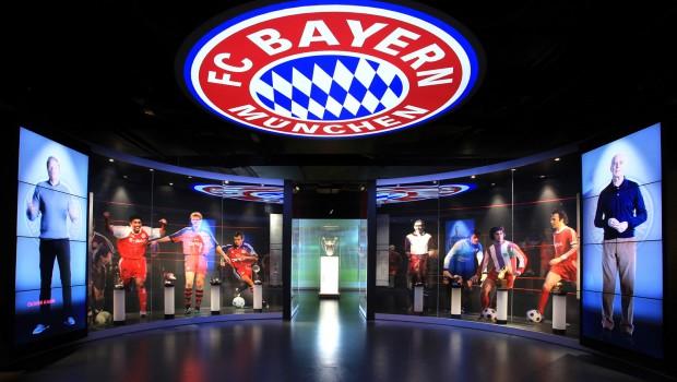 Hall of Fame in der FC Bayern Erlebniswelt