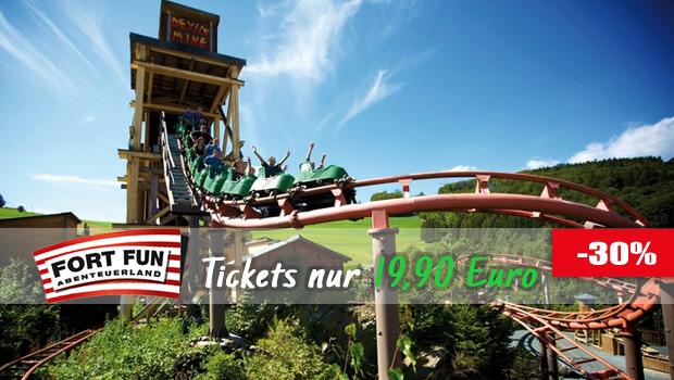 Günstige FORT FUN-Tickets 2016/06