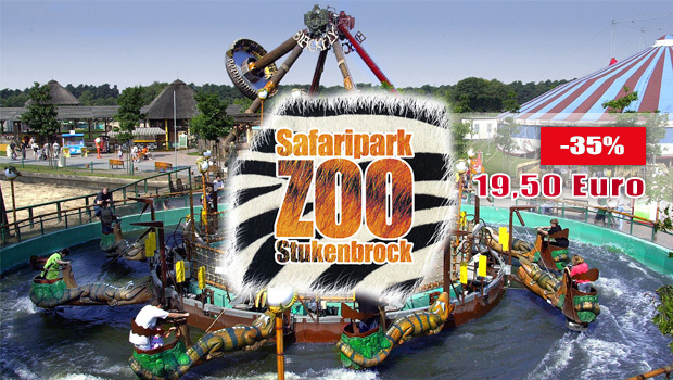 Zoo Safaripark Stukenbrock Rabatt 06/2016