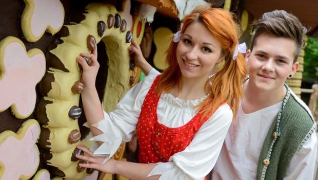 Hänsel und Gretel im Filmpark Babelsberg