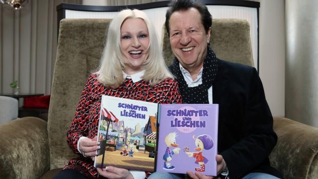 Hermann Rarebell und Claudia Raab - Kinderbuchlesung im Heide Park