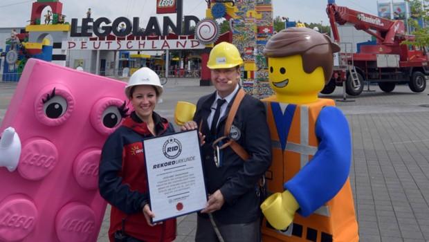 Höchster LEGO-Turm der Welt - Rekord im LEGOLAND Deutschland
