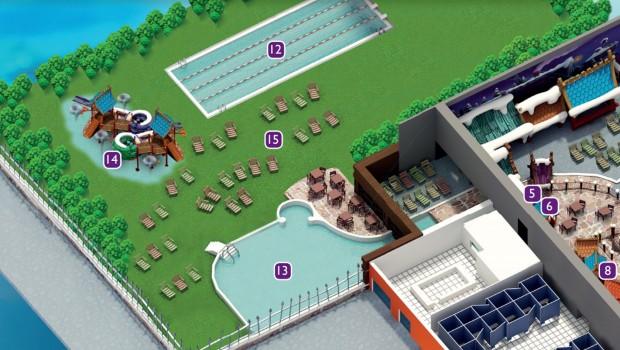 Holiday Park Wasserpark - Außenbereich – Konzeptgrafik