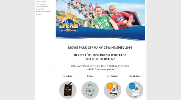 KiK Movie Park Germany-Aktion 2016
