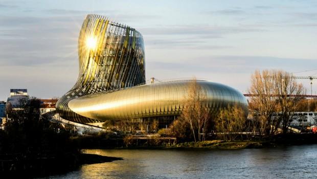 La Cité du Vin Glasturm