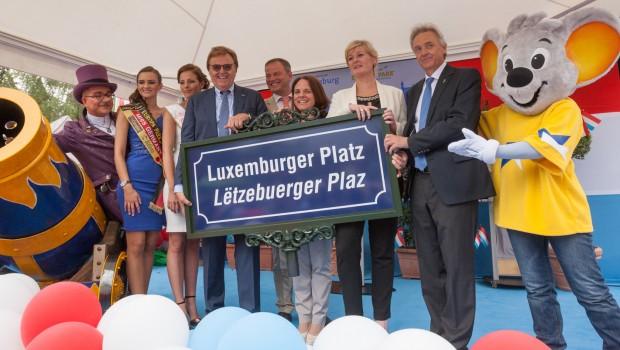 Luxemburg im Europa-Park: Festakt am 11. Juni 2016