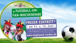 Magic Park Verden spendiert jungen Fußball-Fans am 11. und 12. Juni 2016 den Eintritt