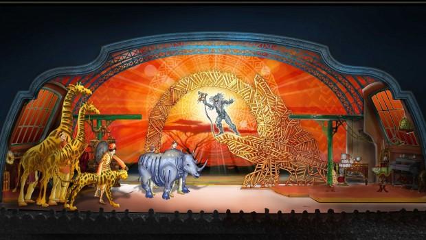 Micky und der Zauberer Show 2016 im Disneyland Paris - Artwork König der Löwen