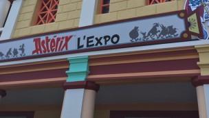 Parc Astérix Ausstellung Eingang