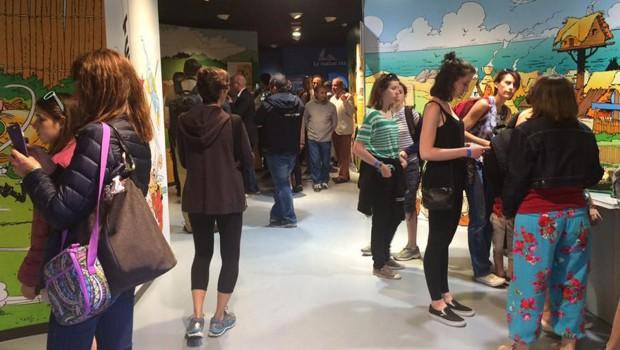 Parc Astérix Ausstellung Innen