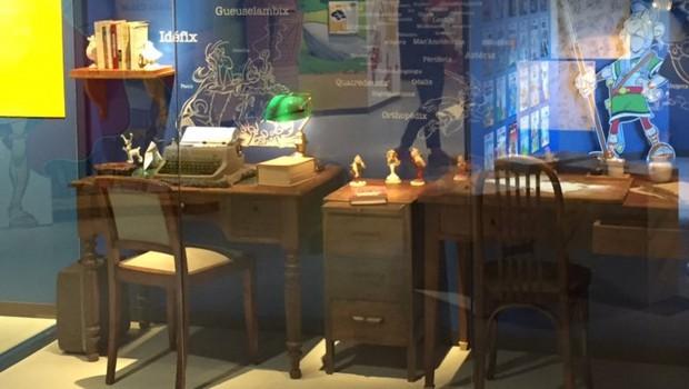 Parc Astérix Ausstellung Büro