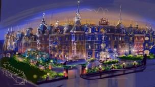 Plopsaland De Panne plant Hotel: Konzeptgrafiken zeigen Ausmaß und Gestaltung