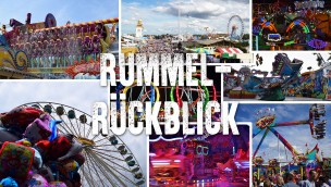 Rummel-Rückblick Mai 2016: viele neue Fahrgeschäfte kurz vor ihrer Premiere