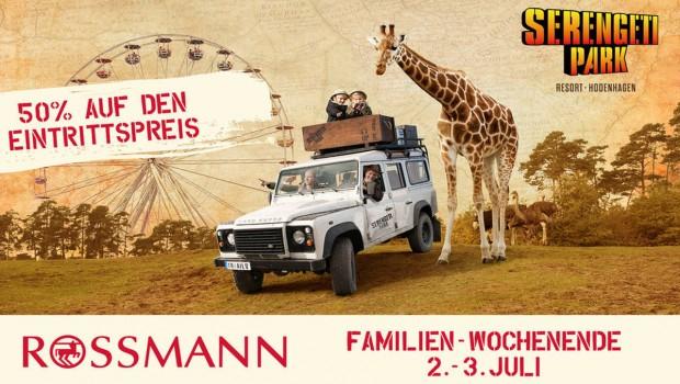 Rossmann Familien-Wochenende 2016 im Serengeti-Park