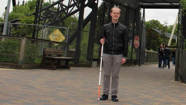 Christian Ohrens im Thorpe Park