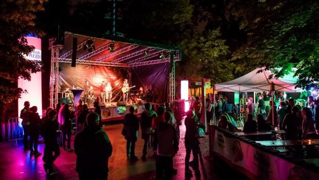 Tierpark Hellabrunn bei Nacht - Bühne