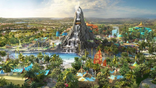 Volcano Bay Wasserpark Artwork