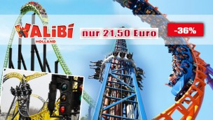 Walibi Holland Ticket-Rabatt 2016 günstiger