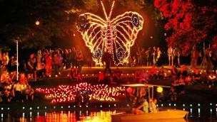 ParkErleuchten 2016 im Zoo Karlsruhe: Lichterfest findet vom 19. bis 21. August statt