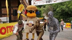 2. ZOO-RUN durch den Erlebnis-Zoo: 1.200 Teilnehmer liefen 2016 in Hannover für den Artenschutz