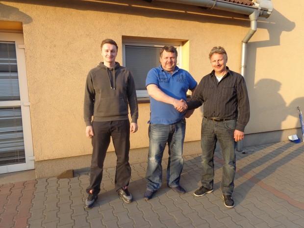 Kolmax-plus verhandelt mit Schausteller Schramm (Kirmes)