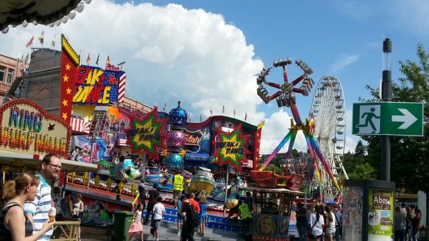 Das Straßenfest in Backnang bot Spaß für groß und klein!