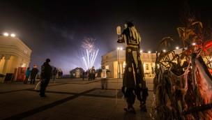 BELANTIS Schlossplatz zu Halloween