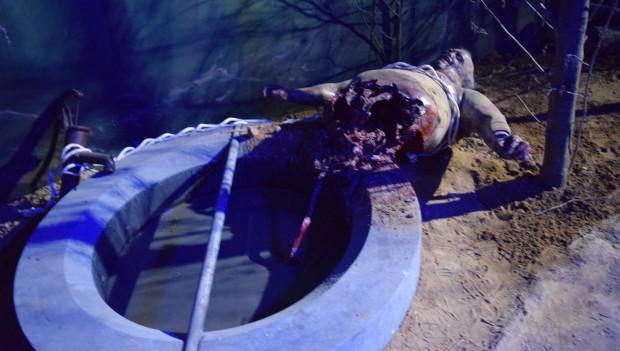 Brunnen Zombie The Walking Dead Breakout
