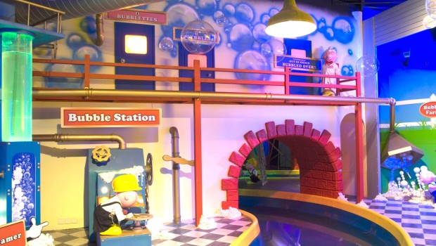 Bubbleworks in Chessington World of Adventures