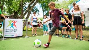 """""""Deutschland bewegt sich"""" 2018 wieder im Europa-Park: Fitness-Tage am 2. und 3. Juni"""