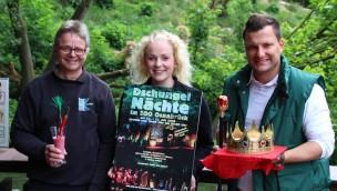 Dschungelnächte im Zoo Osnabrück 2016 mit 17 Künstlern auf drei Bühnen