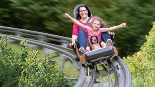 """""""Nachtrodeln"""" 2016 im Eifelpark: """"Eifel-Coaster"""" im Sommer bis 21 Uhr geöffnet"""