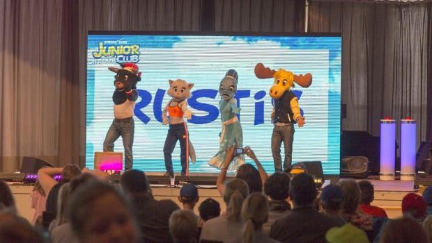 Europa-Park Junior Club - Die Rustis - Auftritt