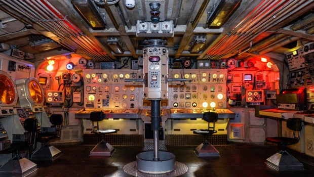 Filmpark Babelsberg - Dock 8 - U-Boot von Innen