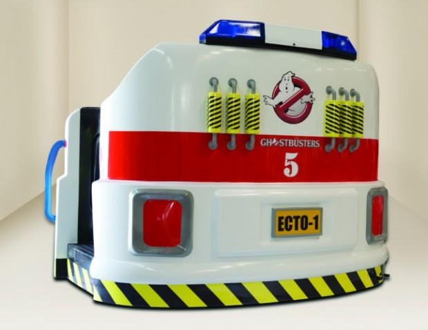 Ghostbusters Motiongate Waggon Ecto-Pod Hinten