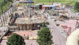 """""""Grizzly Bay"""" im Jaderpark eröffnet am 16. Juli: Baustelle der Neuheit 2016 kurz vor ihrer Premiere im Blick"""