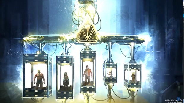 Guardians of the Galaxy Artwork Gefängnis
