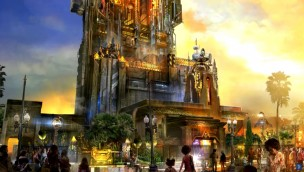 """Tower of Terror"" in Disneys California Adventure Park wird zur Guardians of the Galaxy-Attraktion"